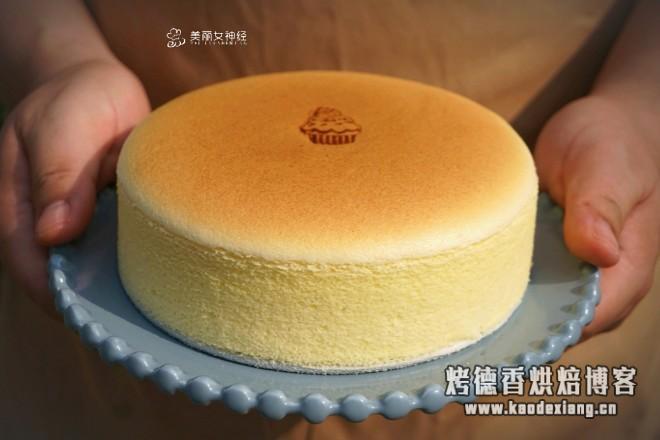 轻乳酪蛋糕(瑞可爷爷同款)网红轻乳酪的做法